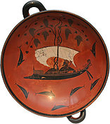 Dionysos Gott / Bacchus Piraten