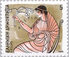 Hestia - Göttin des heiligen Herdfeuers
