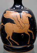 Pegasus - in der griechischen Mythologie