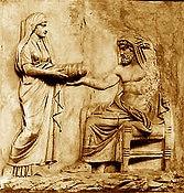 Götter Spiel Zeichen und Symbole der Götter Rhea und Kronos