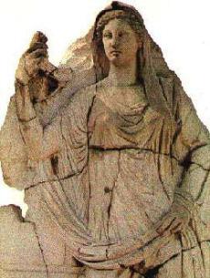 Demeter - griechische Göttin der Fruchtbarkeit