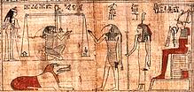 Osiris im Totengericht