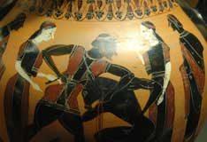 Theseus und Minotaurus