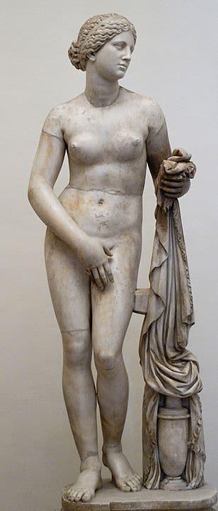 Schönheitsideale im Wandel der Zeit - Aphrodite von Knidos von Praxiteles