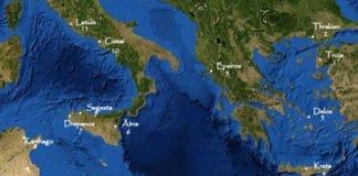 Aeneas Sage: Die elf Stationen von Aeneas Irrfahrt