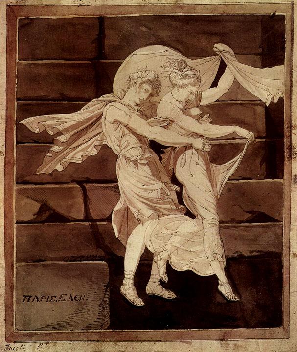 Aphrodite und Paris