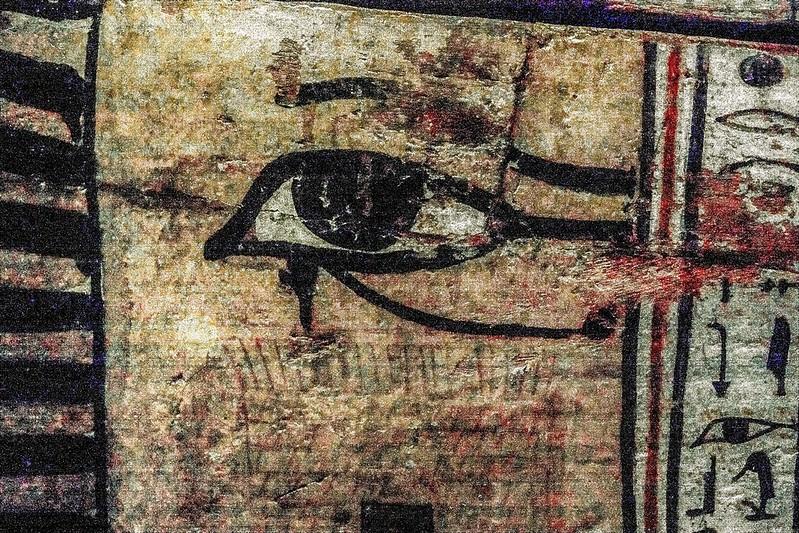 Wie geht es nach dem Tod weiter? Das schützende Auge des Horus.