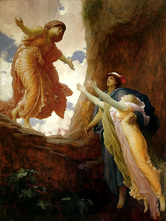 Frederic Leighton:_The Return of Persephone (1891)