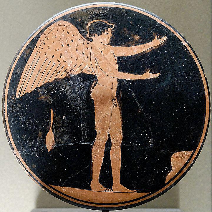Eros - Gott der Liebe bei den Griechen, Sohn der Aphrodite