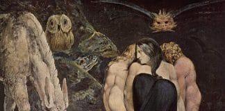Die dreigestaltige griechische Göttin Hekate - von William_Blake