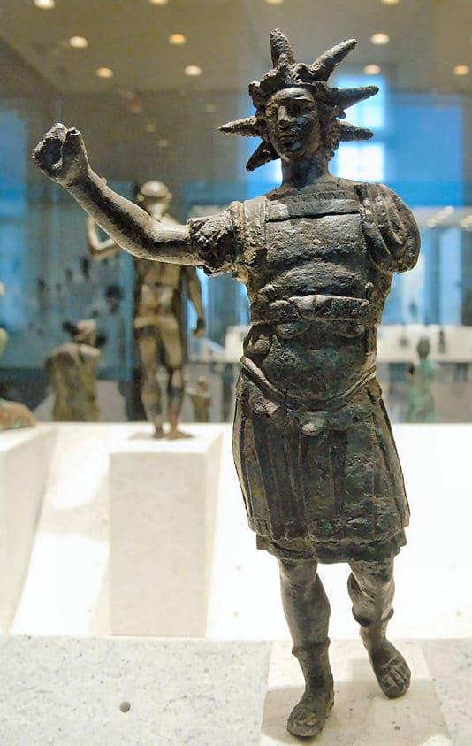 Helios - Statue im Louvre, Paris