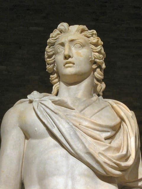 Helios- Statue im Pergamon Museum Berlin