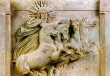 Der Gott Helios ist der Sonnengott der Griechen - die Sonne selbst.
