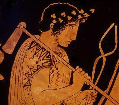 Hephaistos, griechischer Gott des Feuers und der Schmieden