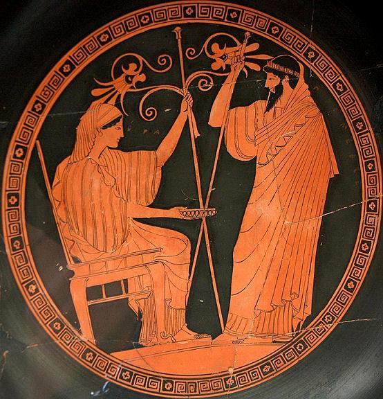 Hera und Prometheus