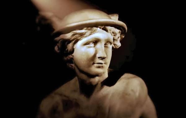 Hermes - Götterbote, Gott der Reisenden und der Magier, der Kaufleute und Diebe