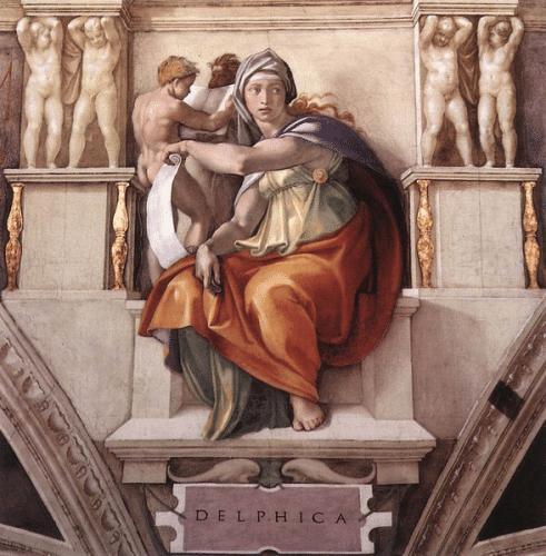 Apollon stand auch dem Orakel von Delphi vor