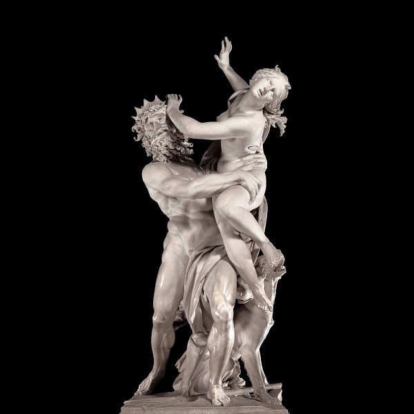 Der Raub der Proserpina von Gian Lorenzo Bernini, 1622