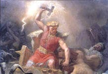 Thor und seine Ziegenboecke