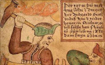Thor und die Midgard-Schlange