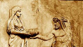 Die Titanen - Rhea und Kronos