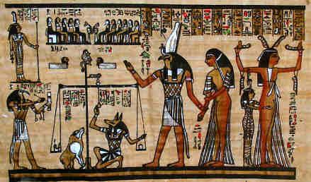 Das Totengericht der alten Ägypter