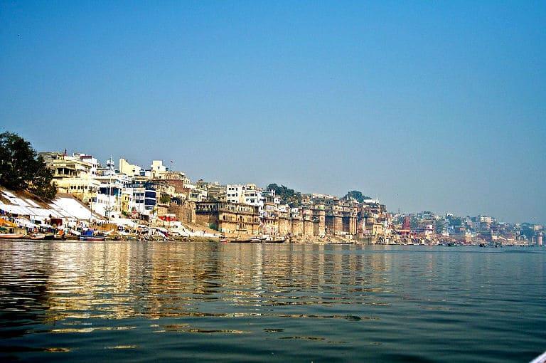 Varanasi am Fluss Ganges