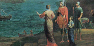 Aeneas in Karthago