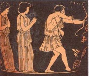 Homer Odyssee: Odysseus tötet die Freier