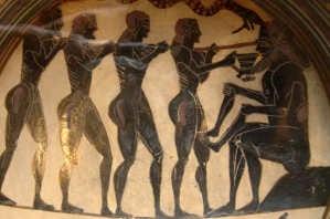 Die Abenteuer des Odysseus: Odysseus blendet Polyphemos