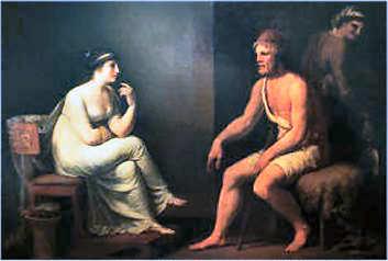 Homer Odyssee: Odysseus und Penelope