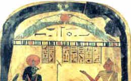 Die Götter und Menschen im Totengericht