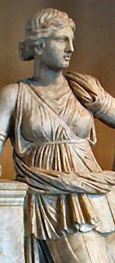 Die griechische Göttin der Jagd