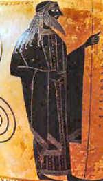 griechischer Meeresgott