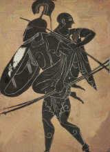 Griechische Helden Aneas