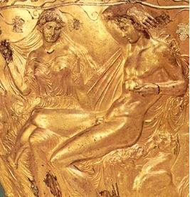 Hochzeit von Dionysos / Bacchus und Ariadne