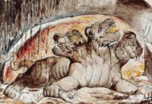 Kerebos - der Höllenhund von Blake