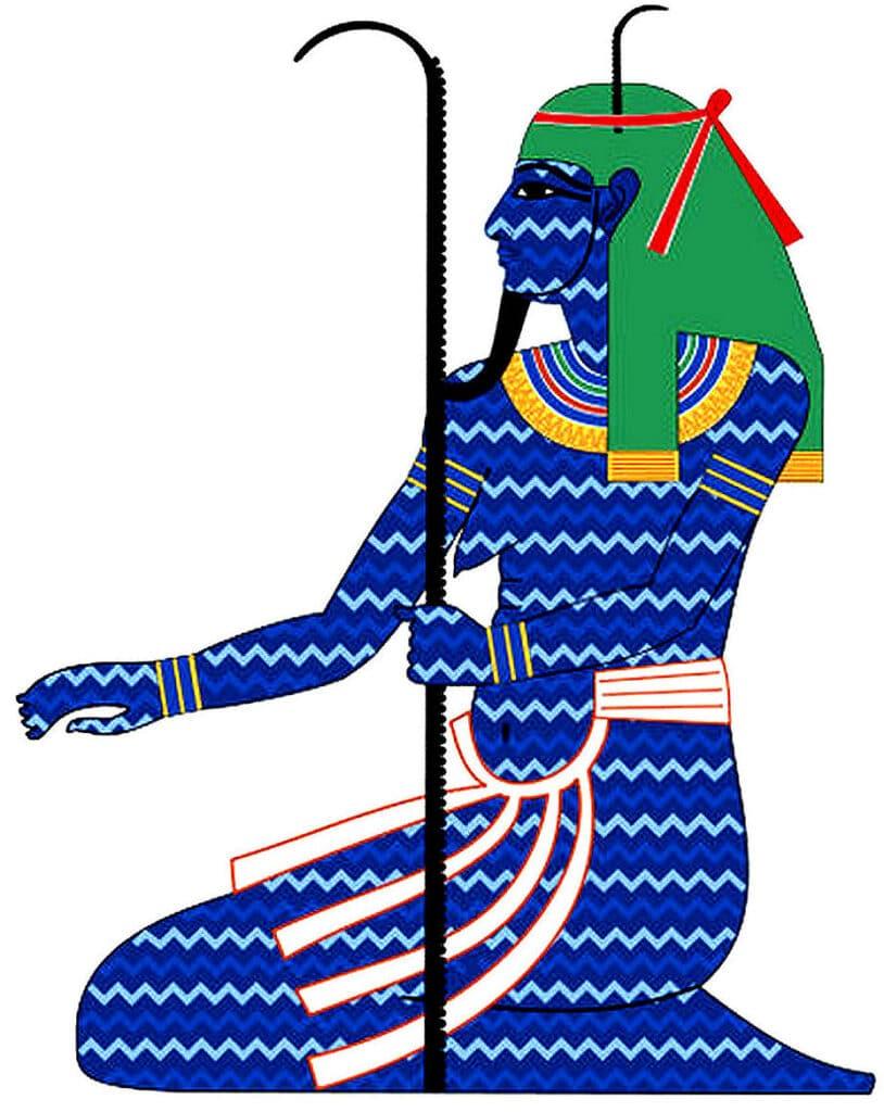 Schöpfungsgeschichten: Der ägyptische Gott Nun - das schöpferische Urmeer