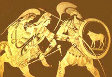 Theseus und Perithoos