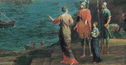 Dido und Aeneas in Karthargo