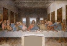 Eucharistie - das Abendmahl von Leonardo da Vinci