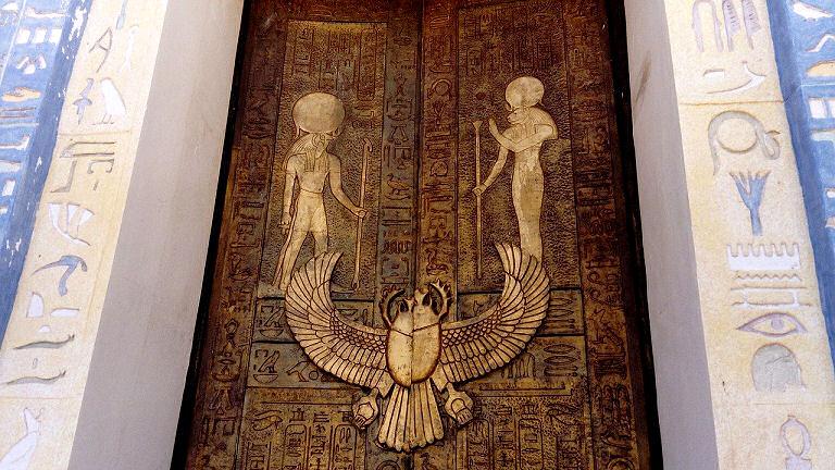 Kleopatra - Tür in Marokko