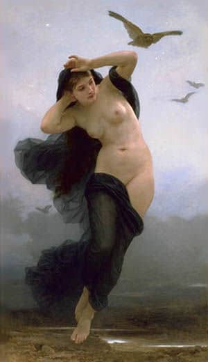 Griechiche Götter: Nyx Göttin der Nacht