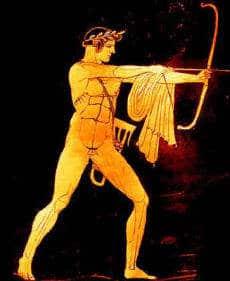 Apollon der rächende Sonnengott