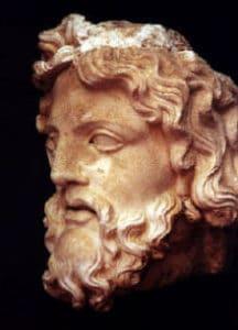 Stammbaum der griechischen Götter rund um Zeus