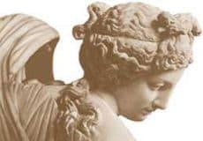 griechische Göttin Aphrodite beim Bade