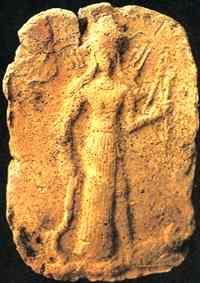 Inanna, Enki und Ereschkidal