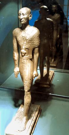 Osiris, Bruder und Ehemann von Isis