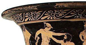Theseus tötet Prokrustes