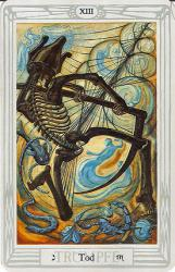 Einen Blick in die Zukunft werfen geht zum Beispiel mit Hilfe von Tarot-Karten